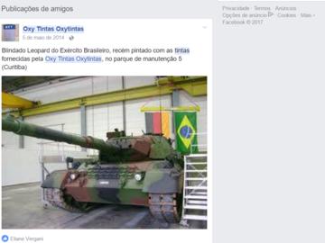 Advertisement: perfil de facebook corporativo