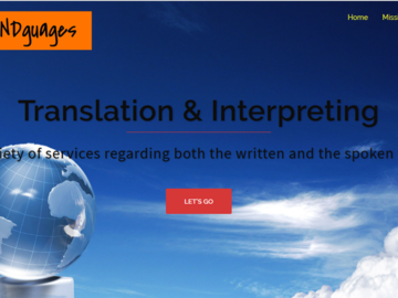 Advertisement: Language services