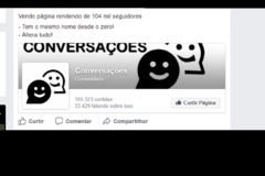 Advertisement: Página com 105 mil seguidores 350R$ - Altera tudo
