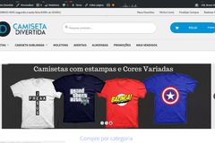 Advertisement: Ecommerce de Camisetas